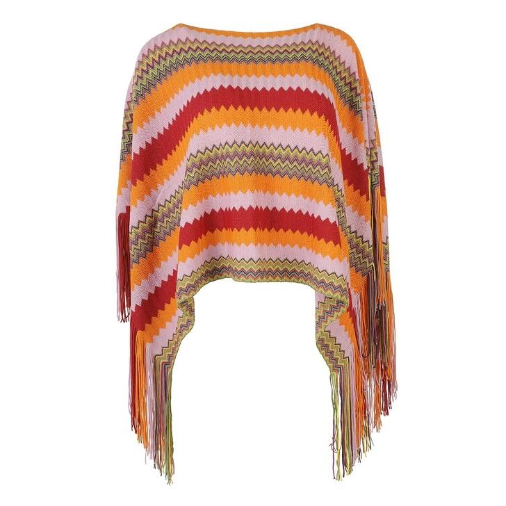 Schal, Missoni, Poncho Multicolor