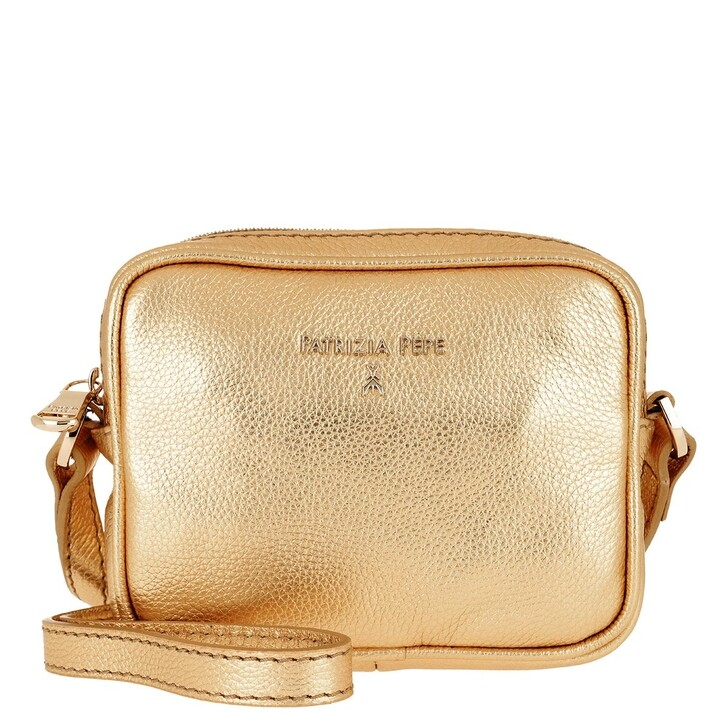 Handtasche, Patrizia Pepe, Camera Case Shoulder Bag Gold Star