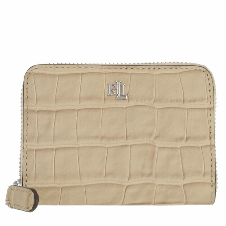 wallets, Lauren Ralph Lauren, Sm Zip Wllet Wallet Small Dune Tan
