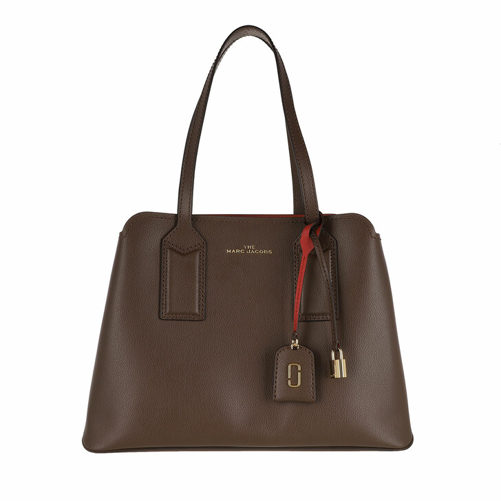 Handtasche, Marc Jacobs, Editor Shoulder Bag Coffee Brown