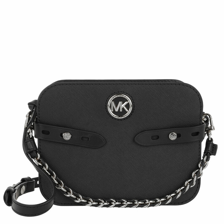 Handtasche, MICHAEL Michael Kors, Carmen Large Camera Crossbody Bag Black