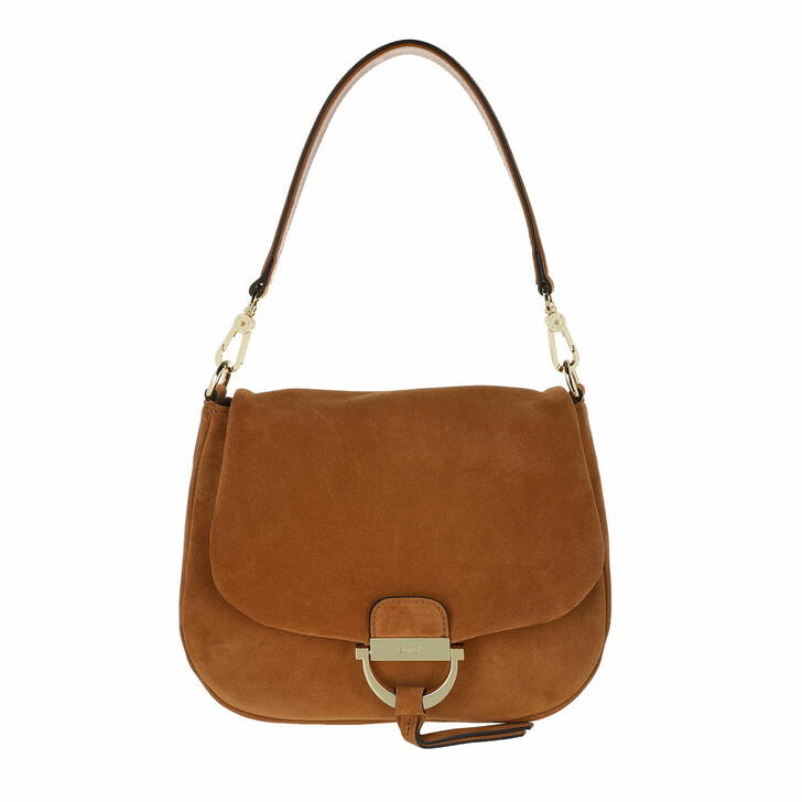 Handtasche, Abro, Shoulder Bag Temi Medium Camel