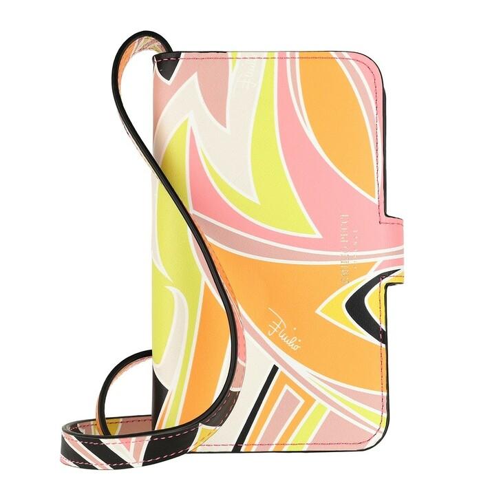 smart_cases, Emilio Pucci, Mobile Holder Dinamica  Rosa/Giallo