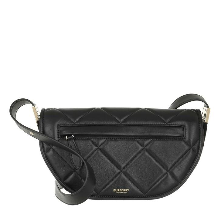 Handtasche, Burberry, Olympia Crossbody Bag Leather Black
