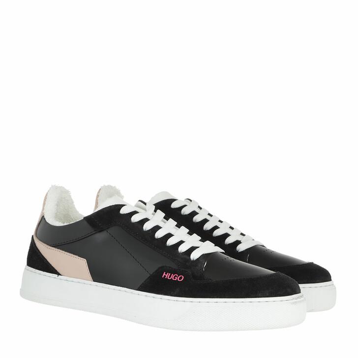 Schuh, Hugo, Vera Lace Sneaker Black