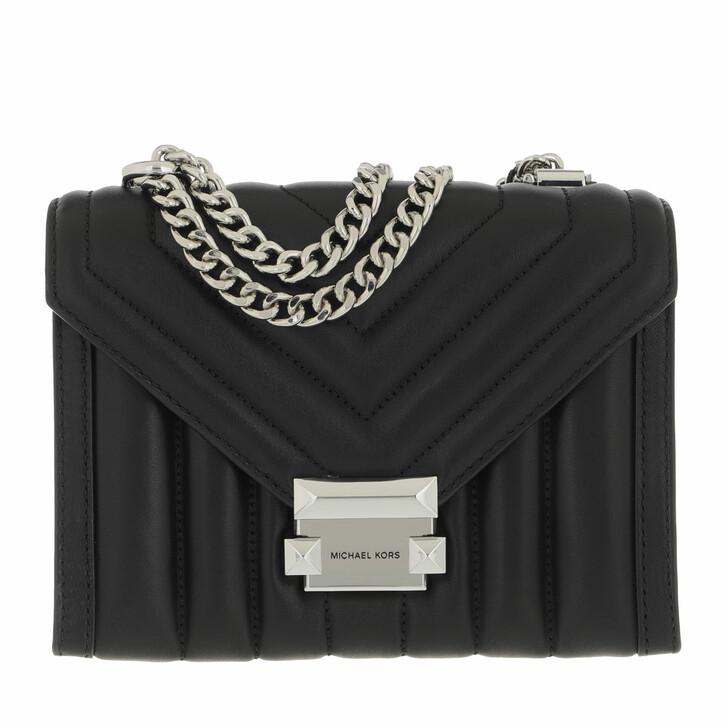 bags, MICHAEL Michael Kors, Whitney Small Shoulder Bag Black