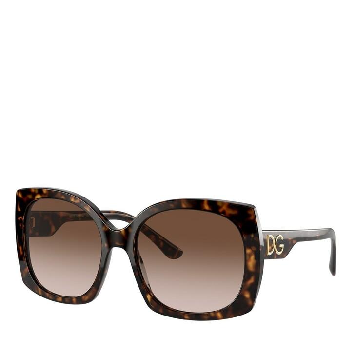 Sonnenbrille, Dolce&Gabbana, AZETAT WOMEN SONNE HAVANA