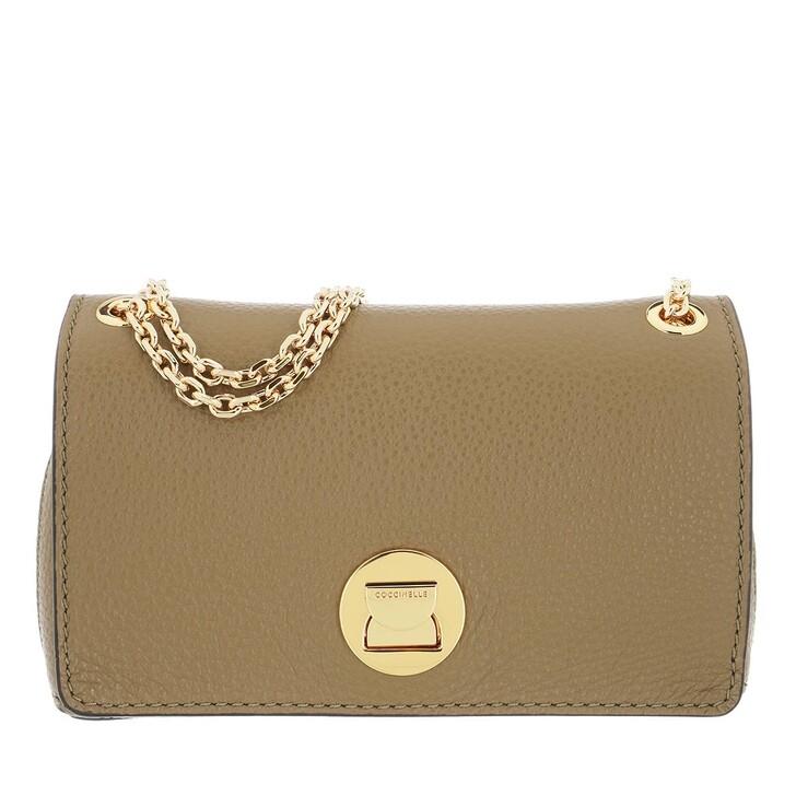 Handtasche, Coccinelle, Liya Crossbody Bag Moss Green