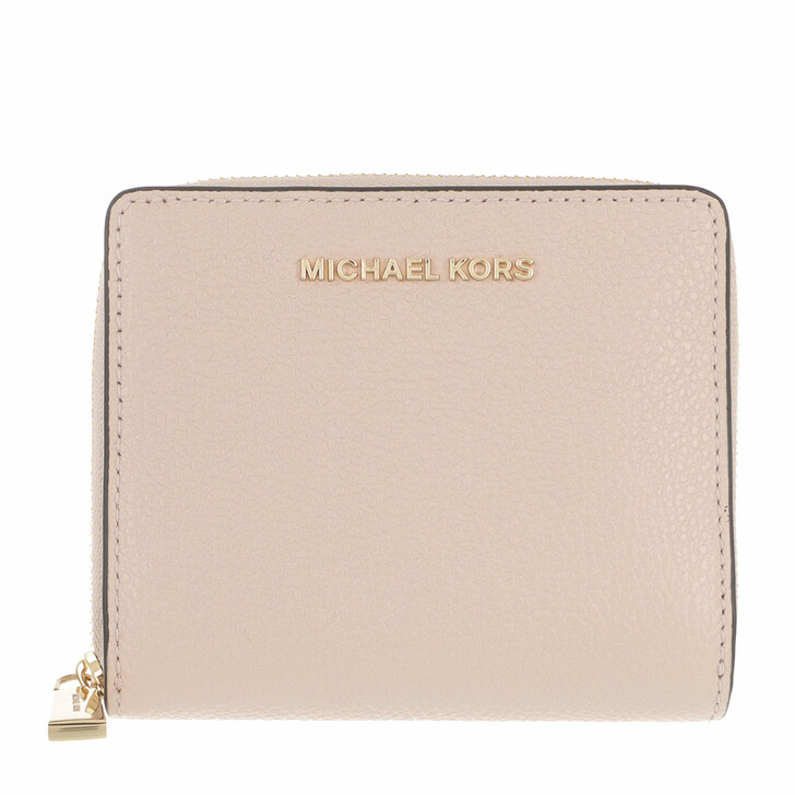 Geldbörse, MICHAEL Michael Kors, Medium Za Snap  Soft Pink