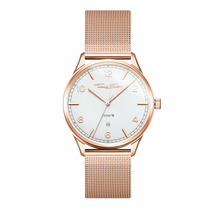 watches, Thomas Sabo, Watch Rose Gold-Coloured