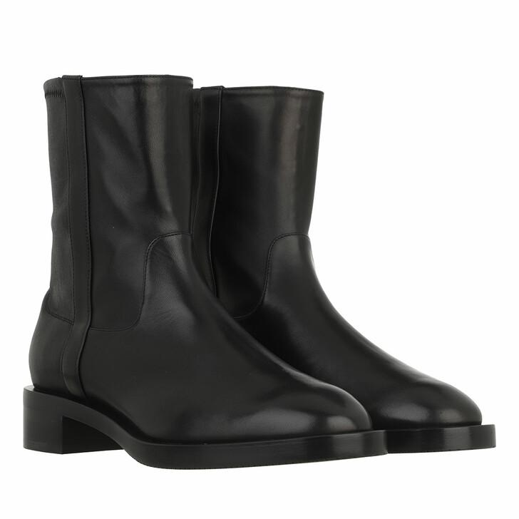 shoes, Stuart Weitzman, Sadie Bootie Black