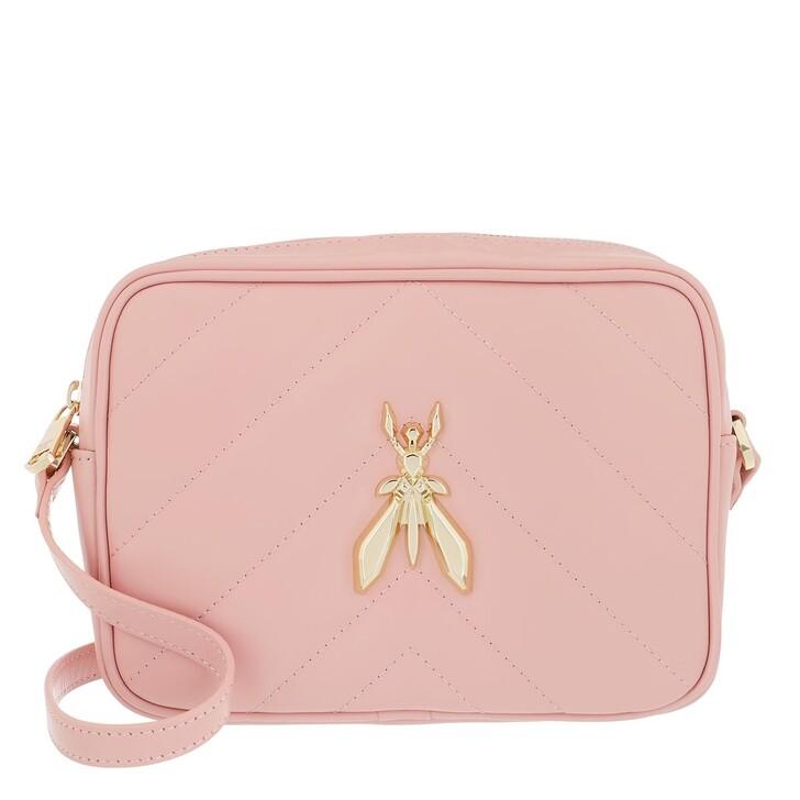 bags, Patrizia Pepe, Crossbody Bag Pink Dune