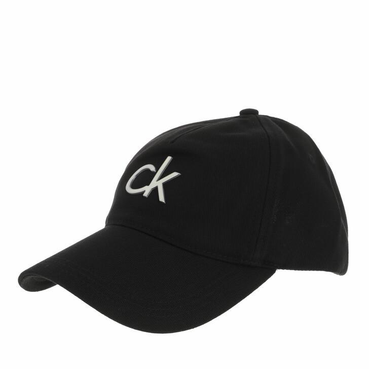 hats, Calvin Klein, BB Cap CK Black