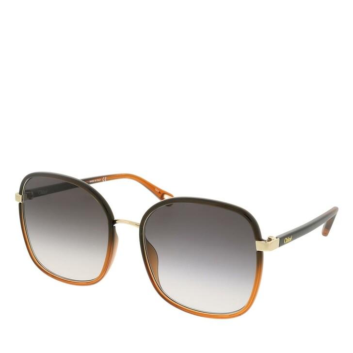 sunglasses, Chloé, CH0031S-005 59 Sunglass Woman Injection Black-Black-Grey
