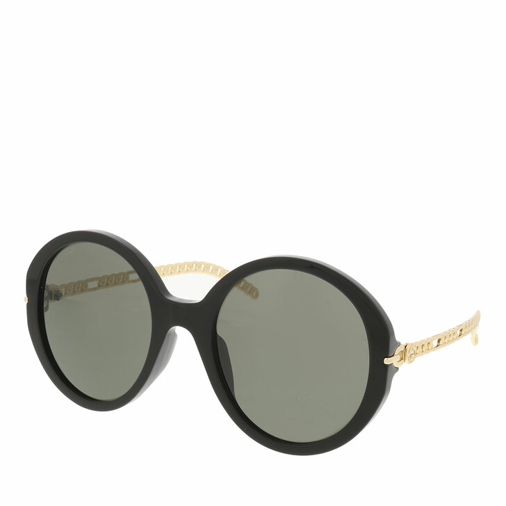 Sonnenbrille, Gucci, GG0726S-005 56 Sunglass WOMAN ACETATE BLACK