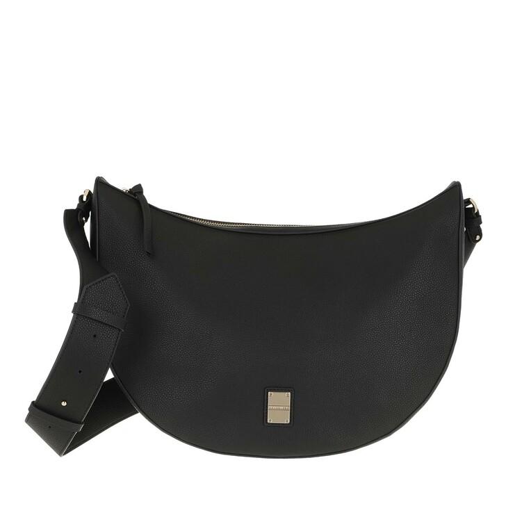 bags, Borbonese, Middle Luna Bag Black