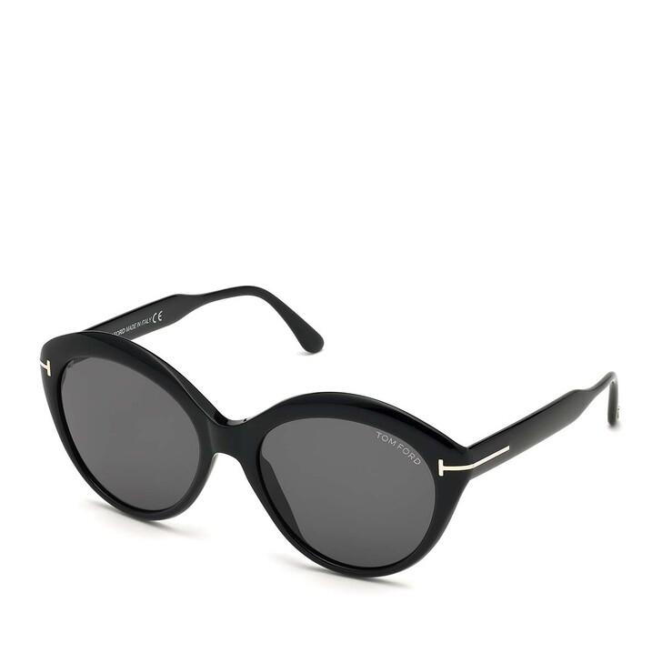 Sonnenbrille, Tom Ford, Women Sunglasses FT0763 Black/Grey