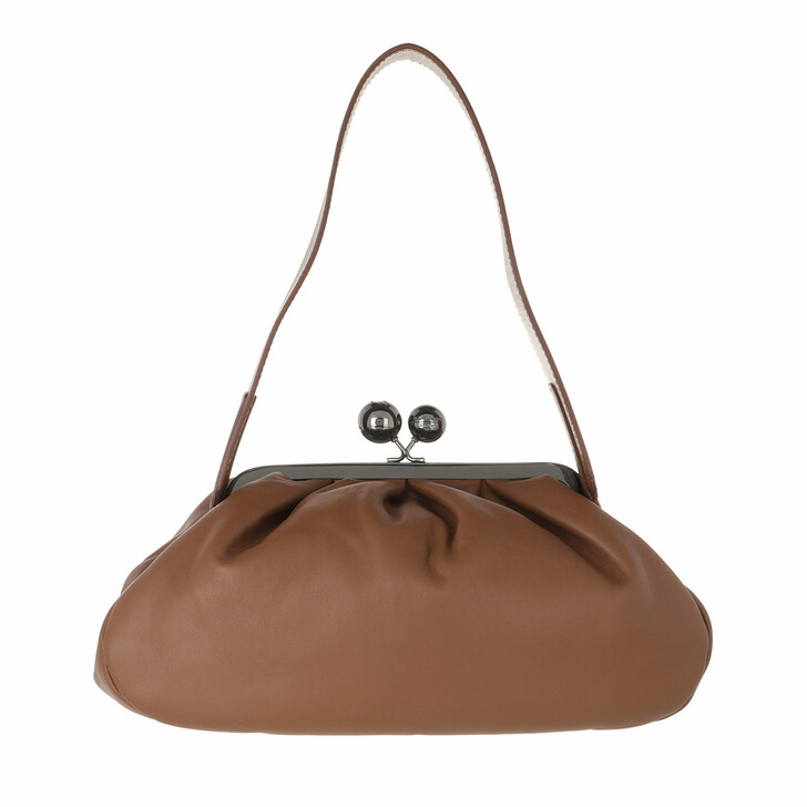 bags, WEEKEND Max Mara, Cubico Handbag Tabaco