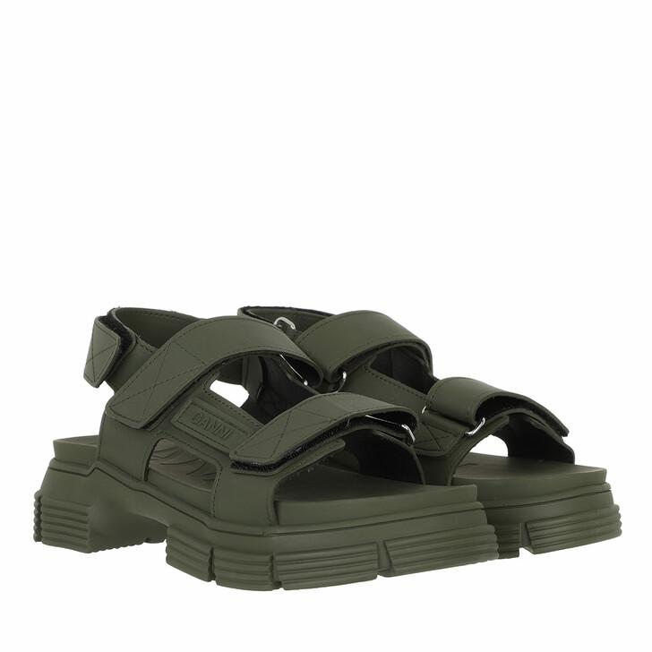 Schuh, GANNI, Rubber Sandal Kalamata