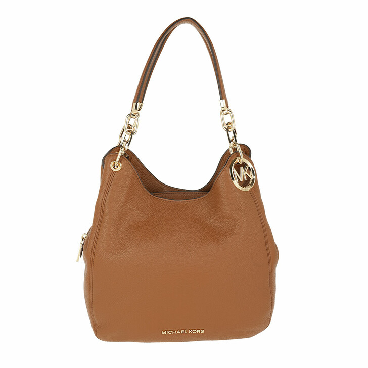 Handtasche, MICHAEL Michael Kors, Lillie Large Chain Shoulder Tote Bag Luggage