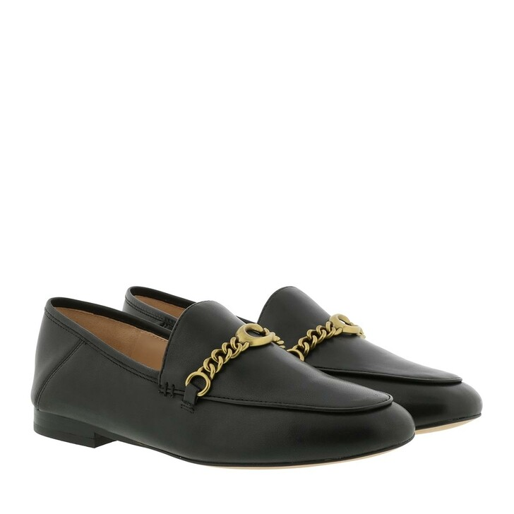 Schuh, Coach, Womens Shoes Loafers  Black