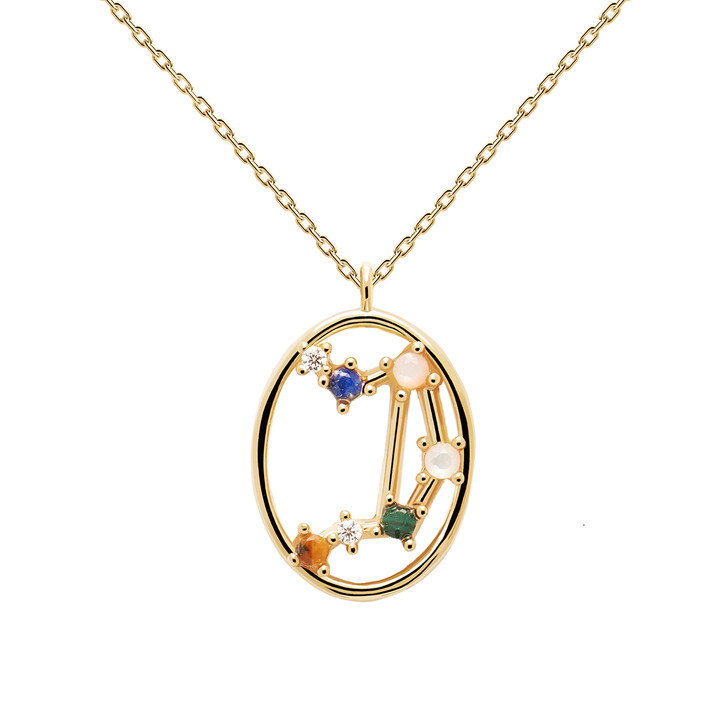 Kette, PDPAOLA, Necklace LIBRA Yellow Gold