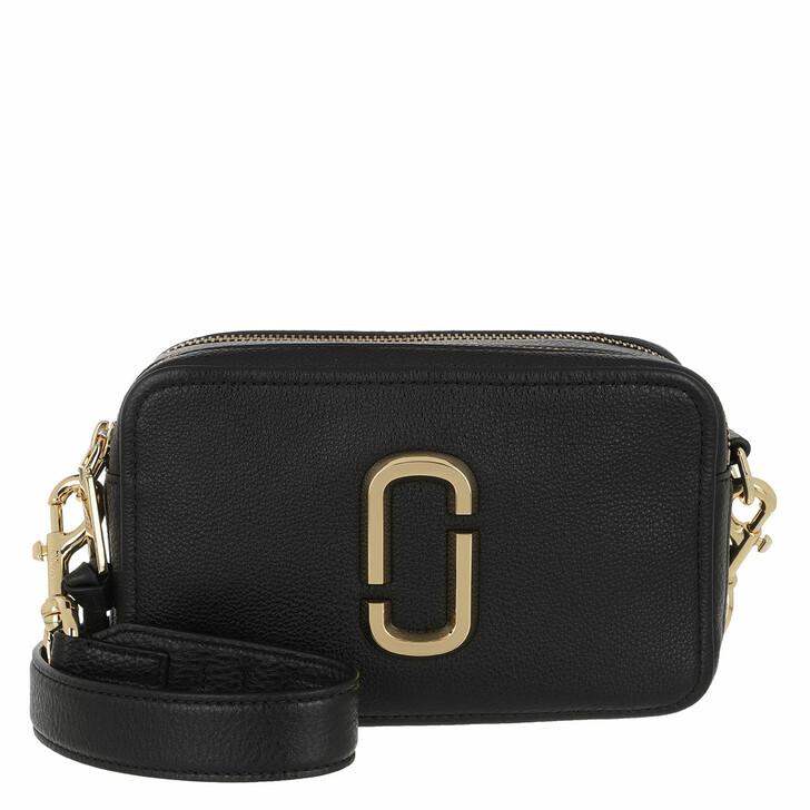 Handtasche, Marc Jacobs, The Softshot 21 Crossbody Bag Black