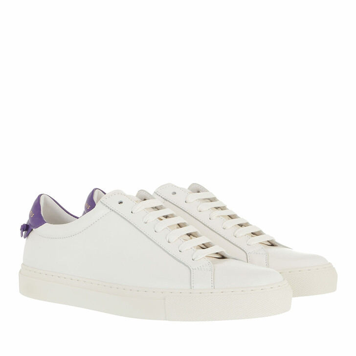 Schuh, Givenchy, Urban Street Sneakers White Purple