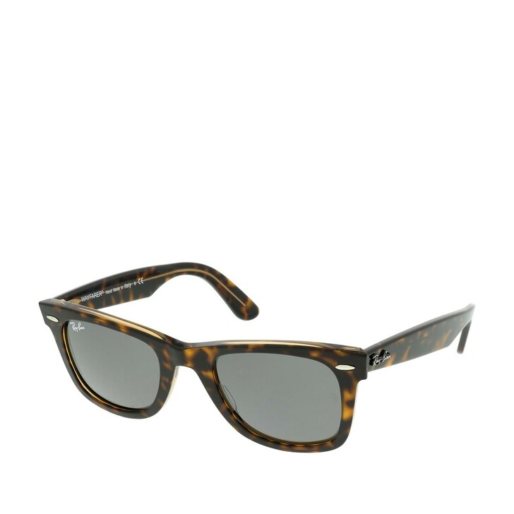 Sonnenbrille, Ray-Ban, Unisex Sunglasses Icons 0RB2140 Havana On Transparent Light Brown