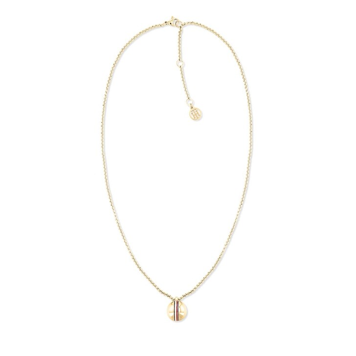 Kette, Tommy Hilfiger, Necklace Yellow Gold