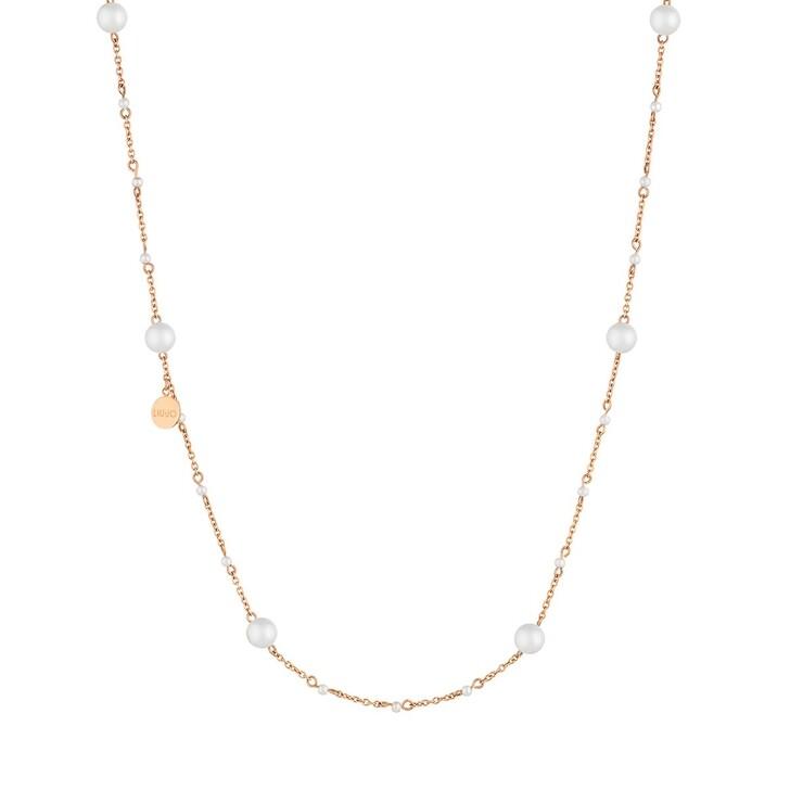 Kette, LIU JO, LJ1506 Stainless steel Necklace Rose Gold
