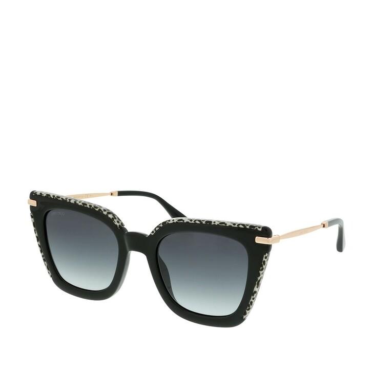 Sonnenbrille, Jimmy Choo, CIARA/G/S Black Gold Leopard