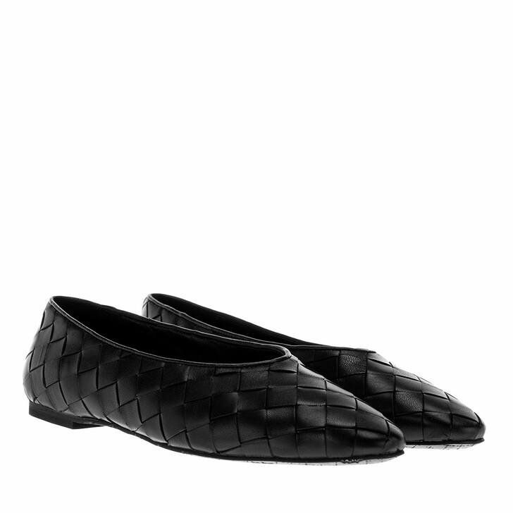 Schuh, What For, Sahara Flats Leather Black