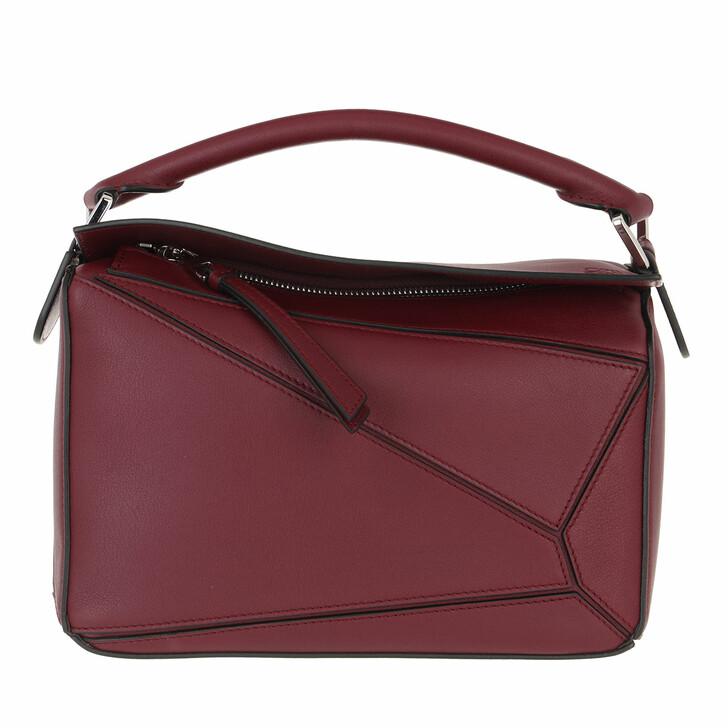 Handtasche, Loewe, Puzzle Small Bag Berry