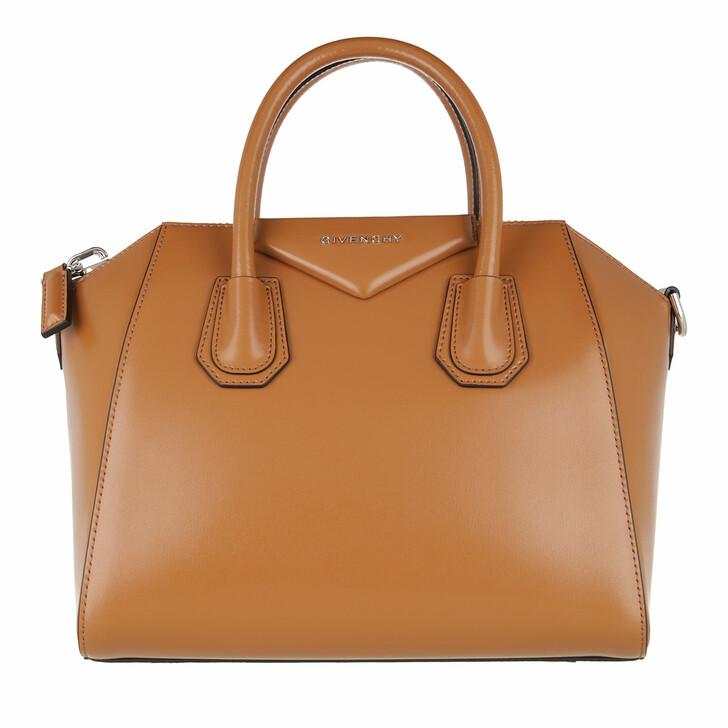 Handtasche, Givenchy, Antigona Small Tote Camel