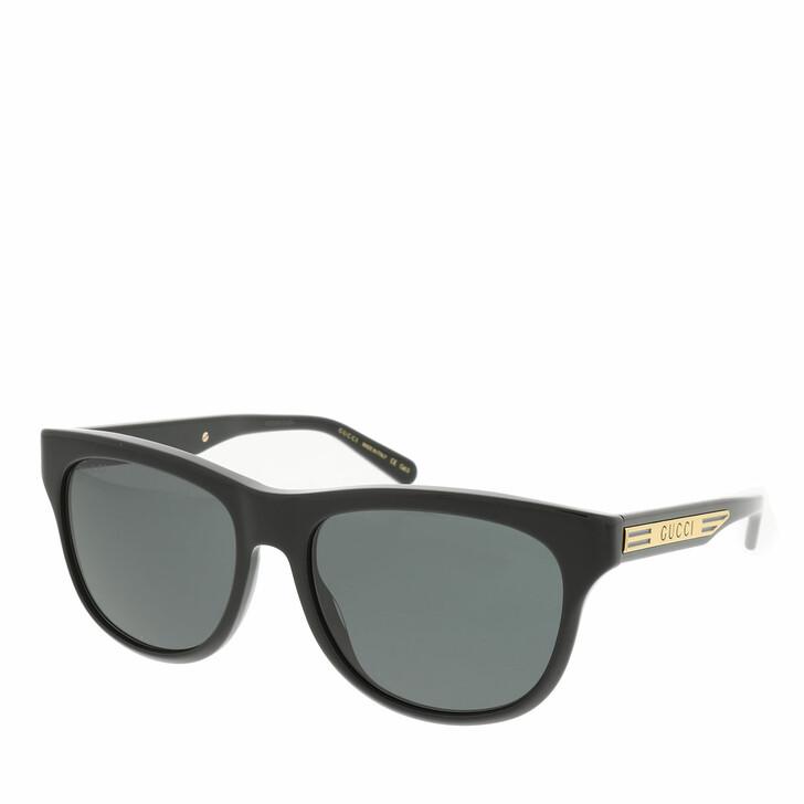 Sonnenbrille, Gucci, GG0980S-001 55 Sunglass MAN ACETATE BLACK