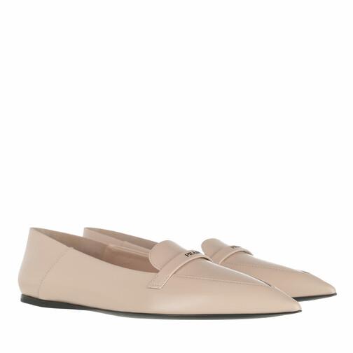 prada -  Loafers & Ballerinas - Loafers - in beige - für Damen