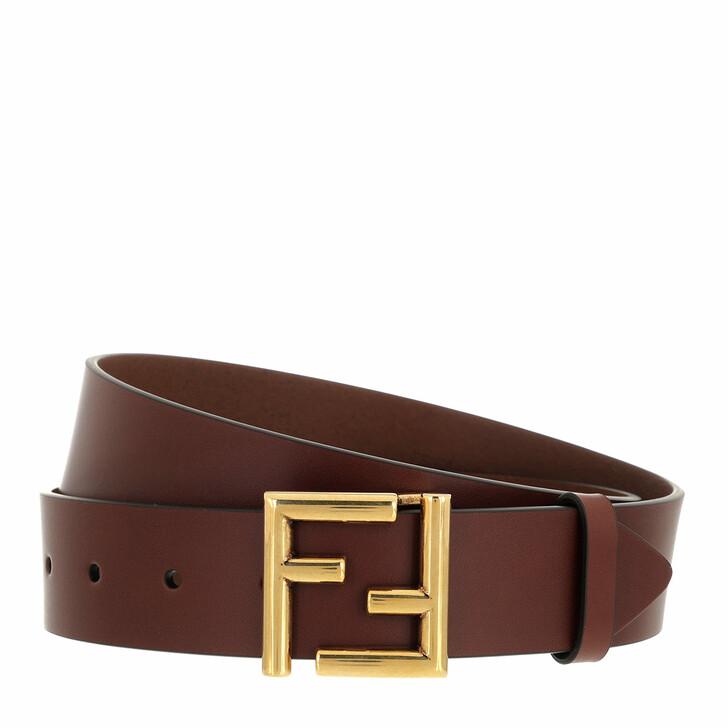 belts, Fendi, Logo Belt Ghianda Obur