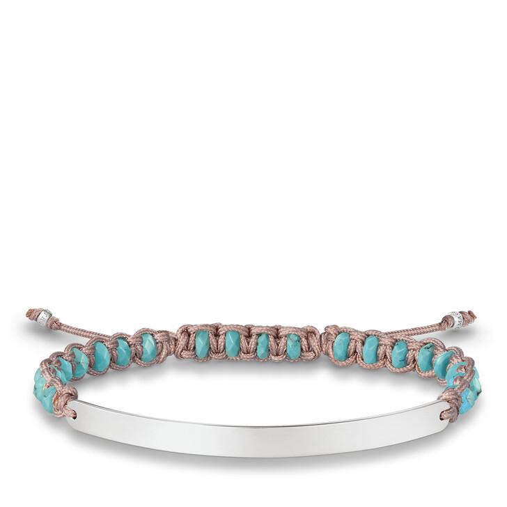 bracelets, Thomas Sabo, Bracelet Silver Blue