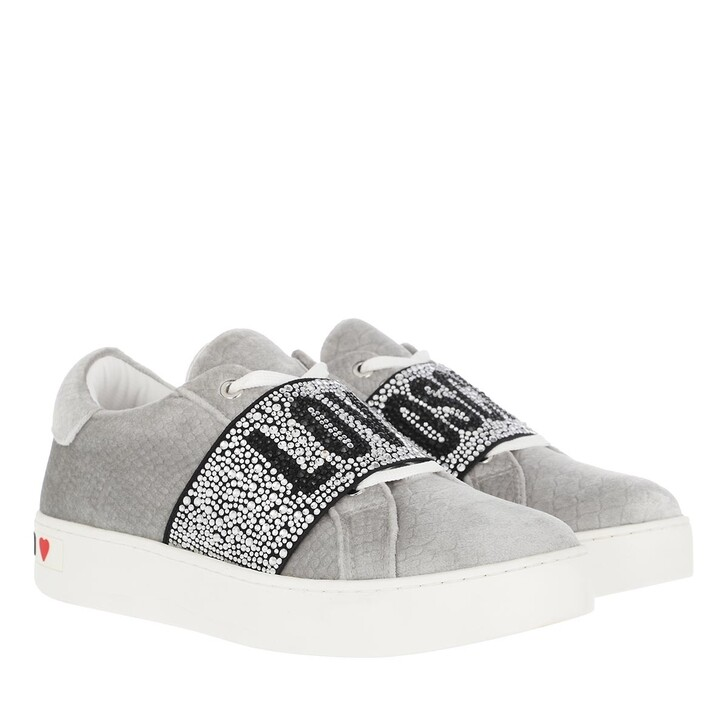 shoes, Love Moschino, Sneakerd Cassetta35 Vell Anac Perla