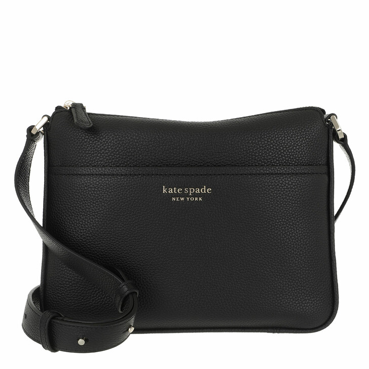 Handtasche, Kate Spade New York, Run Around Medium Crossbody  Black