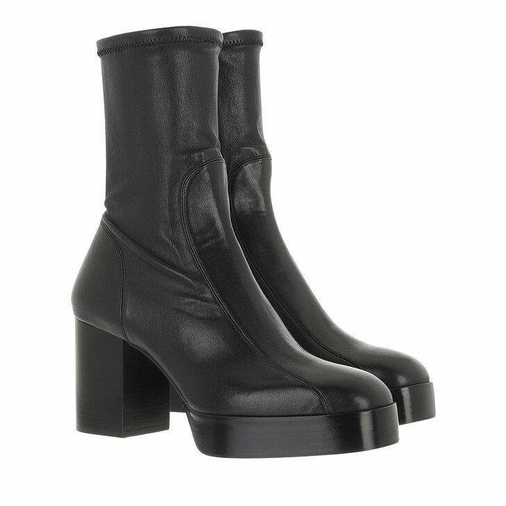shoes, Chloé, Heeled Ankle Boots Leather Black