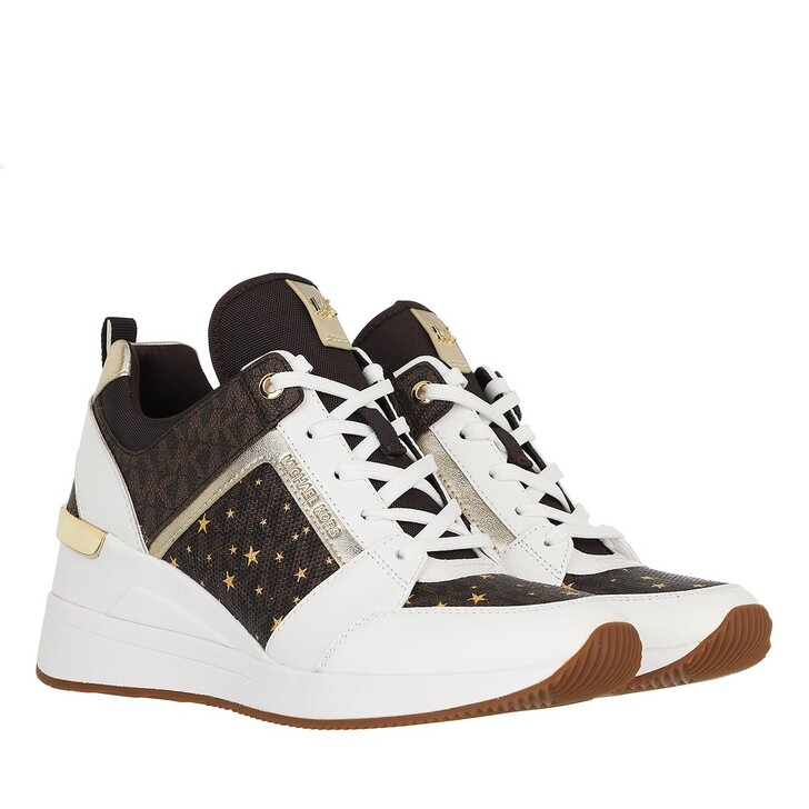 shoes, MICHAEL Michael Kors, Georgie Trainer Brown Multi