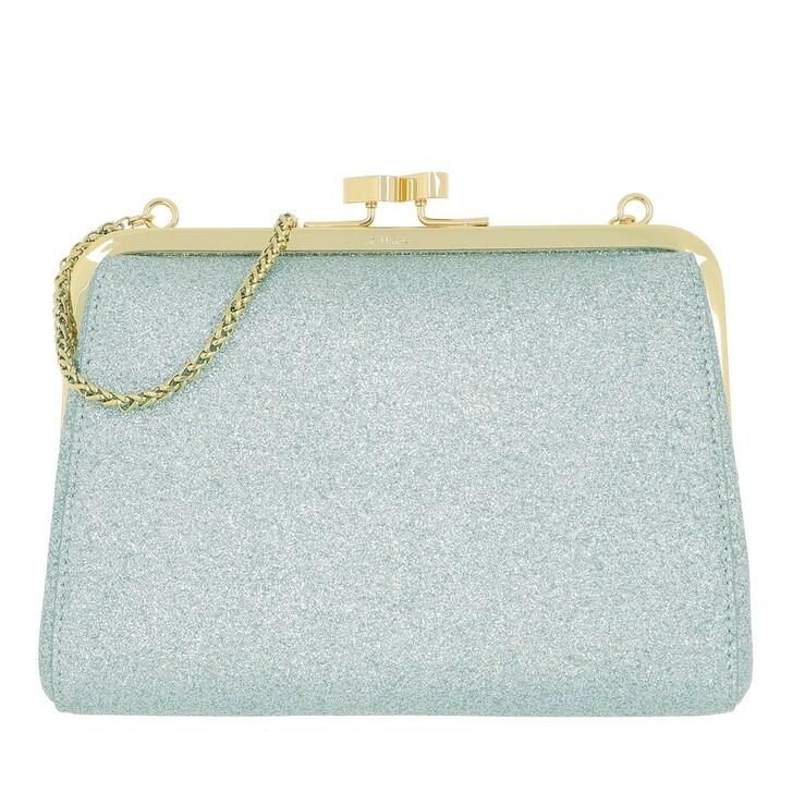 Handtasche, Furla, Evening Mini Clutch Argento