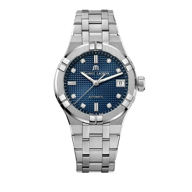 watches, Maurice Lacroix, Watch Aikon Silver