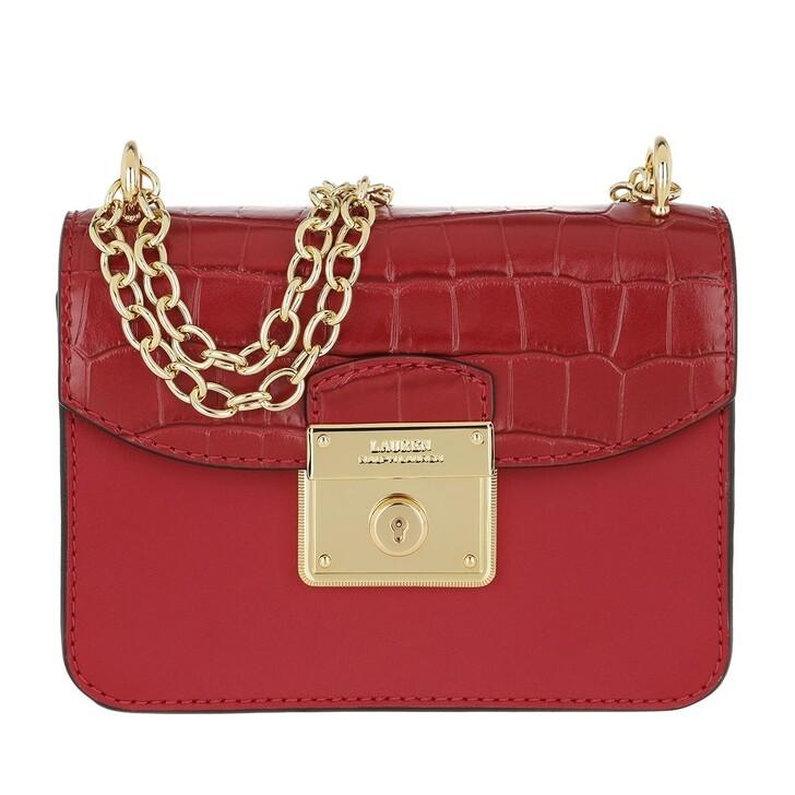 Handtasche, Lauren Ralph Lauren, Beckett 17 Crossbody Mini Red