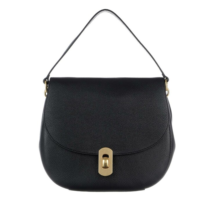 Handtasche, Coccinelle, Zaniah Crossbody Leather  Noir