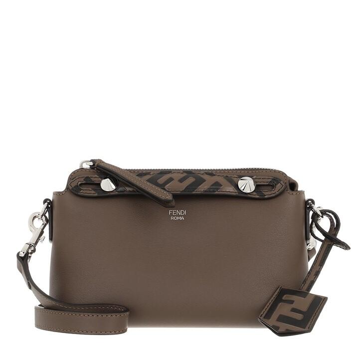 Handtasche, Fendi, By The Way Mini Boston Bag Leather Brown