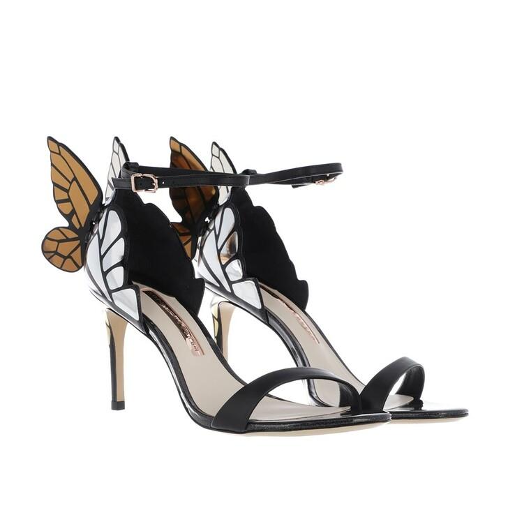 shoes, Sophia Webster, Chiara Mid Sandal Black/Gold