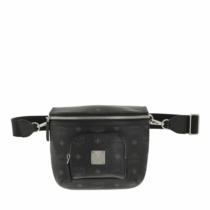 bags, MCM, Klassik Visetos Crossbody Small  Black